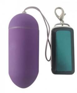 Vibrador Bullet Cápsula Sem Fio 10 Tipos DE Vibrações - LILAS