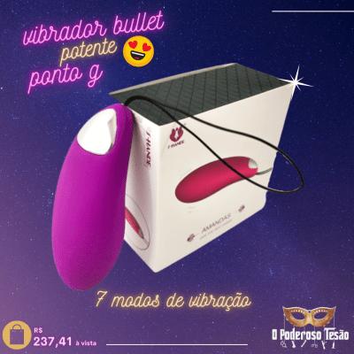 sex shop Curitiba - Vibrador Bullet