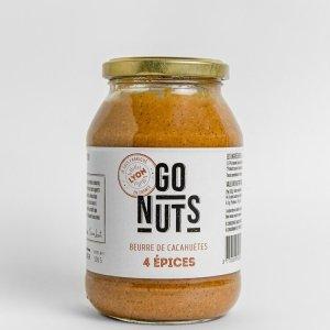 beurre cacahuètes 4 épices 500gr