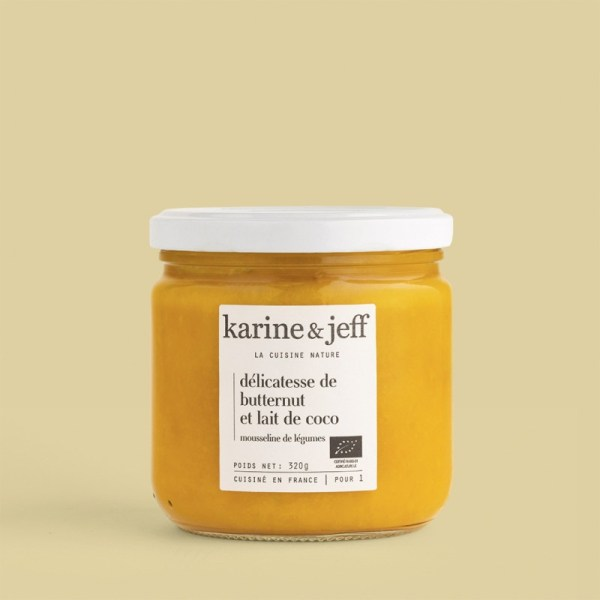 delicatesse-de-butternut-et-lait-de-coco bio et artisanal