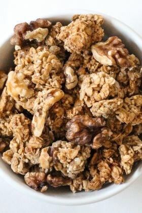 granola-banana-bread bio vegan