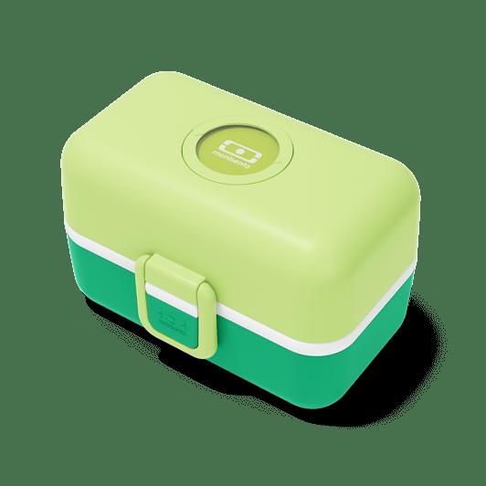 monbento- lunch enfant- vert pomme