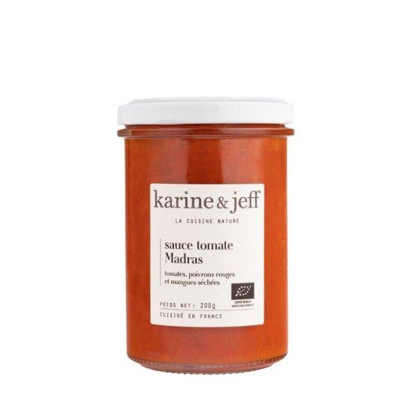 sauce-madras-tomates-poivrons-rouges-et-mangues-sechees bio et artisanal