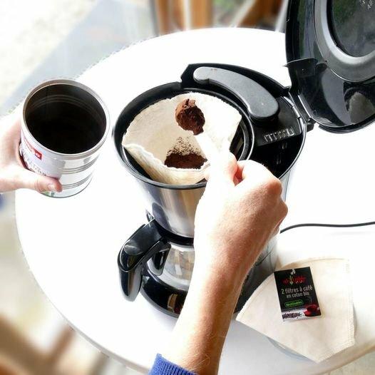 Filtre à Café en Coton bio