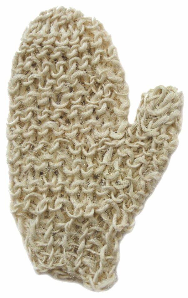 Gant de sisal gommant Anaé