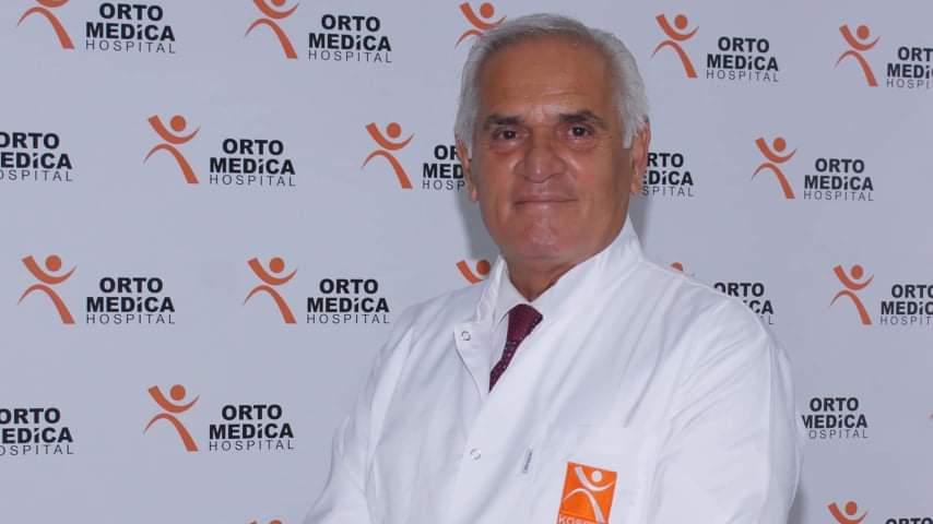 Edhe pas pensionimit Dr Hatim Baxhaku vazhdon të kontribuojë në profesionin e tij.