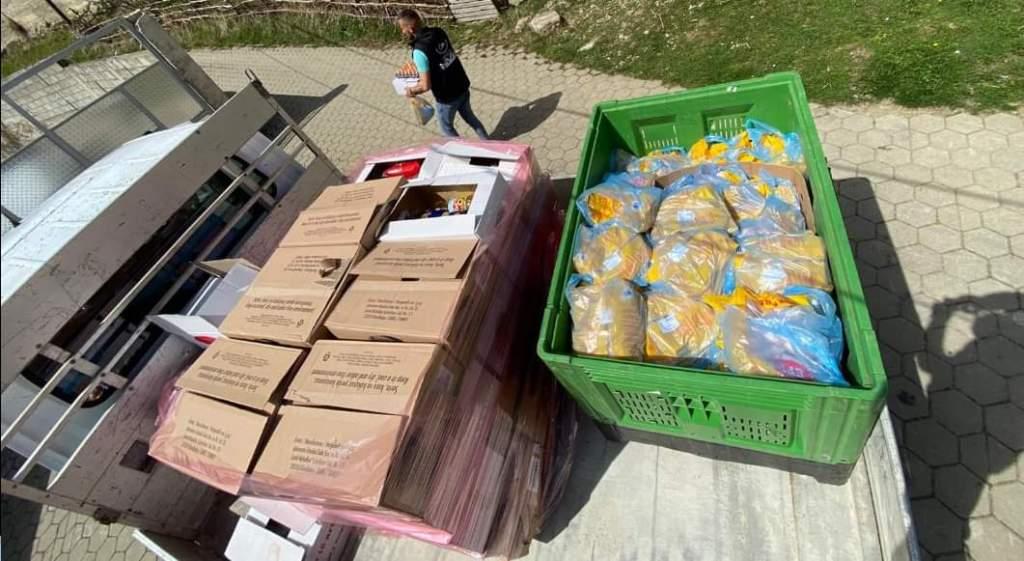 86 pako ushqimore u shpërndanë nga Shoqata humanitare Opoja