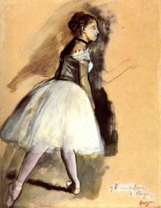 Edgar Degas - rysunek