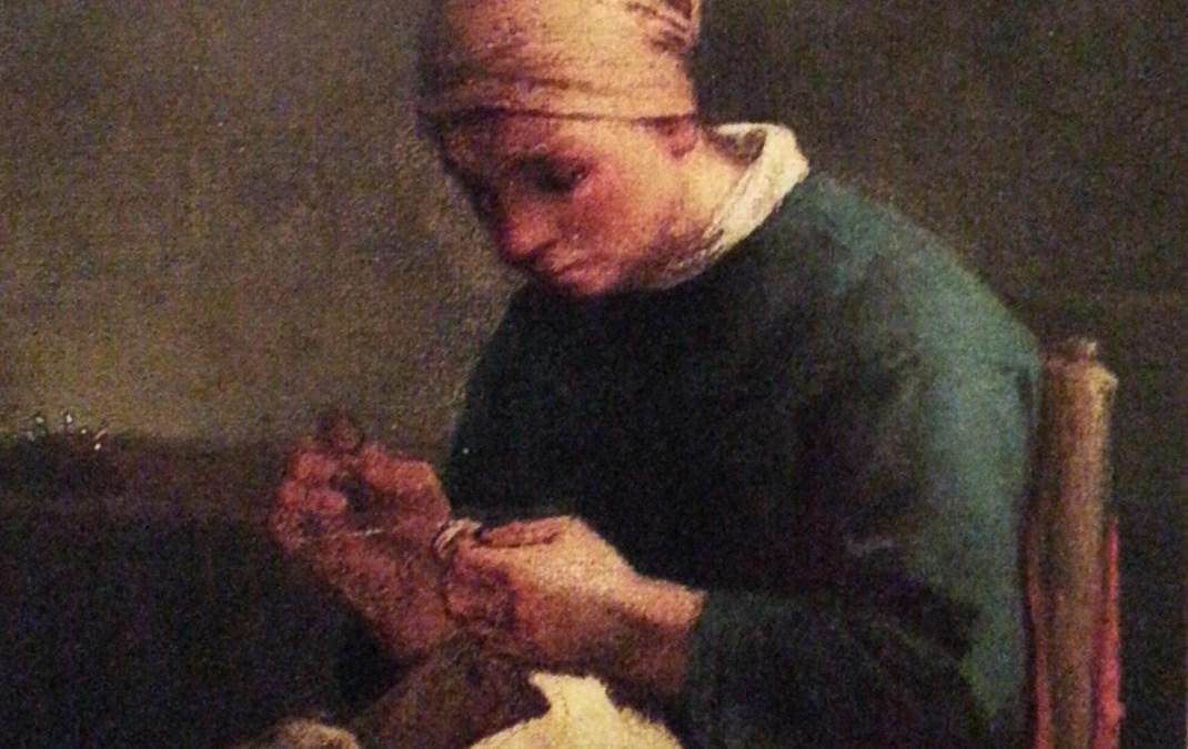"""""""Szwaczka"""" ok. 1860 – Jean Francois Millet"""
