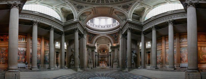Pantheon - Paryż - Zdjęcie panoramiczne
