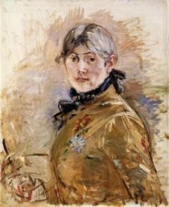 Berthe Morisot - autoportret - okolo 1885 roku