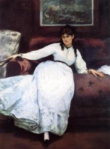 Berthe Morisot na obrazie Edouarda Maneta