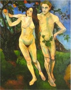 "Suzanne Valadon ""Adam i Eva"" 1909 rok"