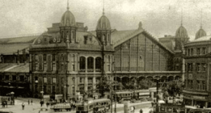 Dworzec kolejowy na Węgrzech