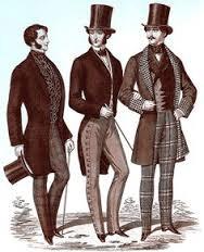 Ubiór mężczyzn w Paryżu 1850-1868