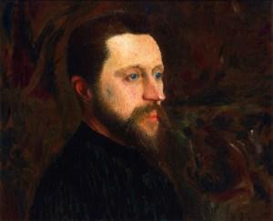 Ernest Joseph Laurent-Portret Georgesa Seurata-ok.1890