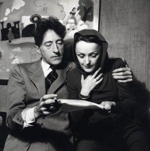 Piaf i jej przyjaciel Jean Cocteau