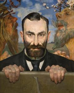 Jacek Malczewski - Feliks Jasieński 1903 rok.