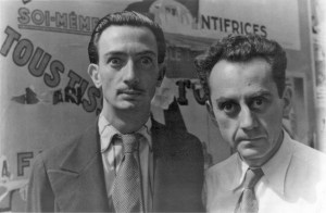Man Ray i Salvador Dali