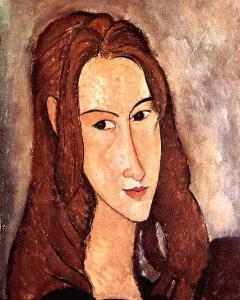 Jeanne Hebuterne autorstwa Modiglianiego