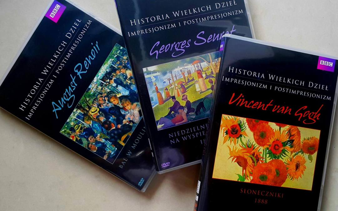 """""""Historie wielkich dzieł"""" van Gogh, Renoir, Seurat"""