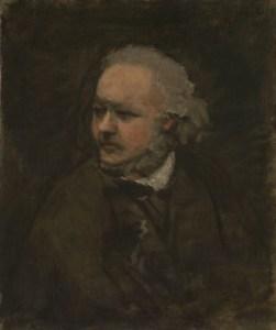 Daumier na portrecie Daubigny'ego, ok. 1860, National Gallery, Londyn