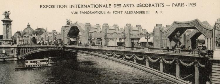 Międzynarodowa Wystawa Sztuki Dekoracyjnej i Wzornictwa 1925 w Paryżu