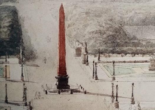 """""""Paryż przebudzenie"""" czyli plac Zgody i obelisk z Luksoru"""