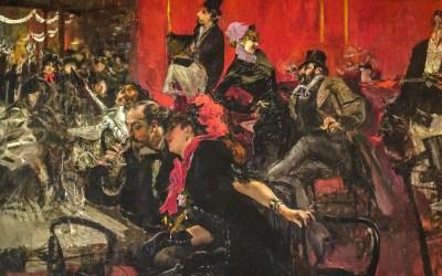 """""""Świętowanie w Moulin Rouge"""" 1889 Giovanni Boldini"""