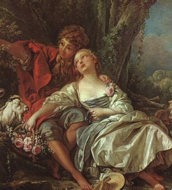 """François Boucher, """"Scena Pastoralna"""" 1761"""