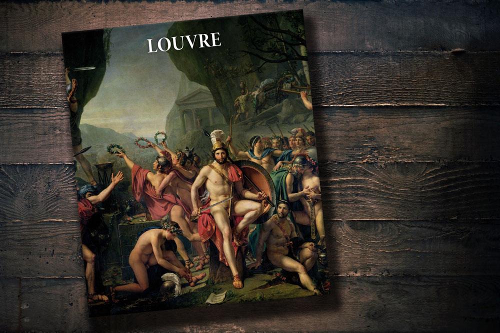 Louvre, Luwr album, Martina Padberg. Koeneman, okładka