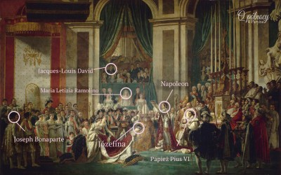"""""""Koronacja Napoleona"""" Jacques-Louis David 1806"""