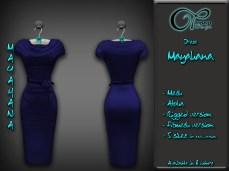 affiche-dress-mayahana-blue