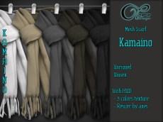 affiche-mesh-scarf-2016-kamaino-v1