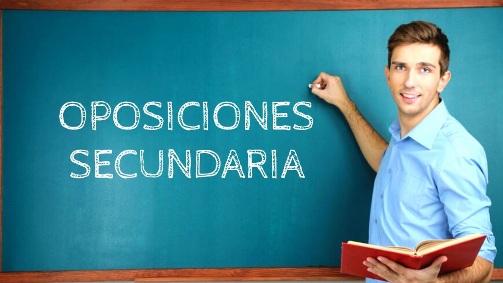 preparador oposiciones secundaria Cantabria 2021