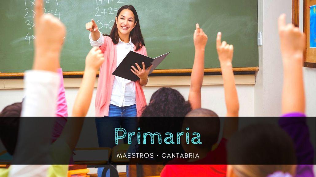 preparador oposiciones primaria cantabria
