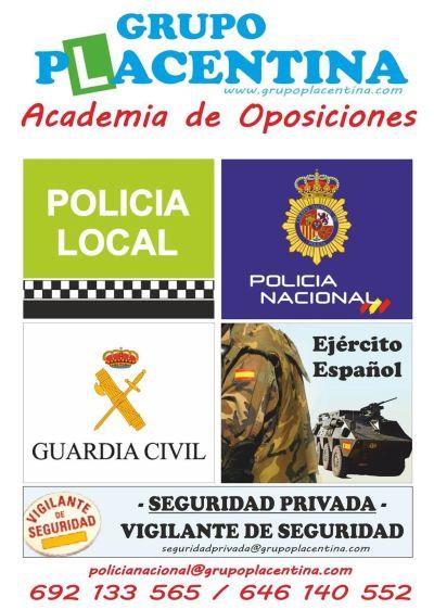 Academia preparación oposiciones Plasencia
