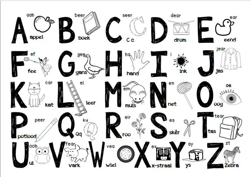 Alfabet Letters