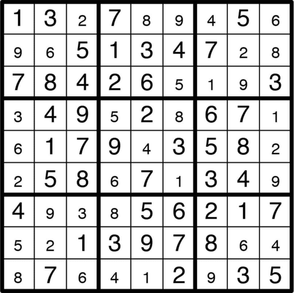 Worksheet Works Answers Sudoku