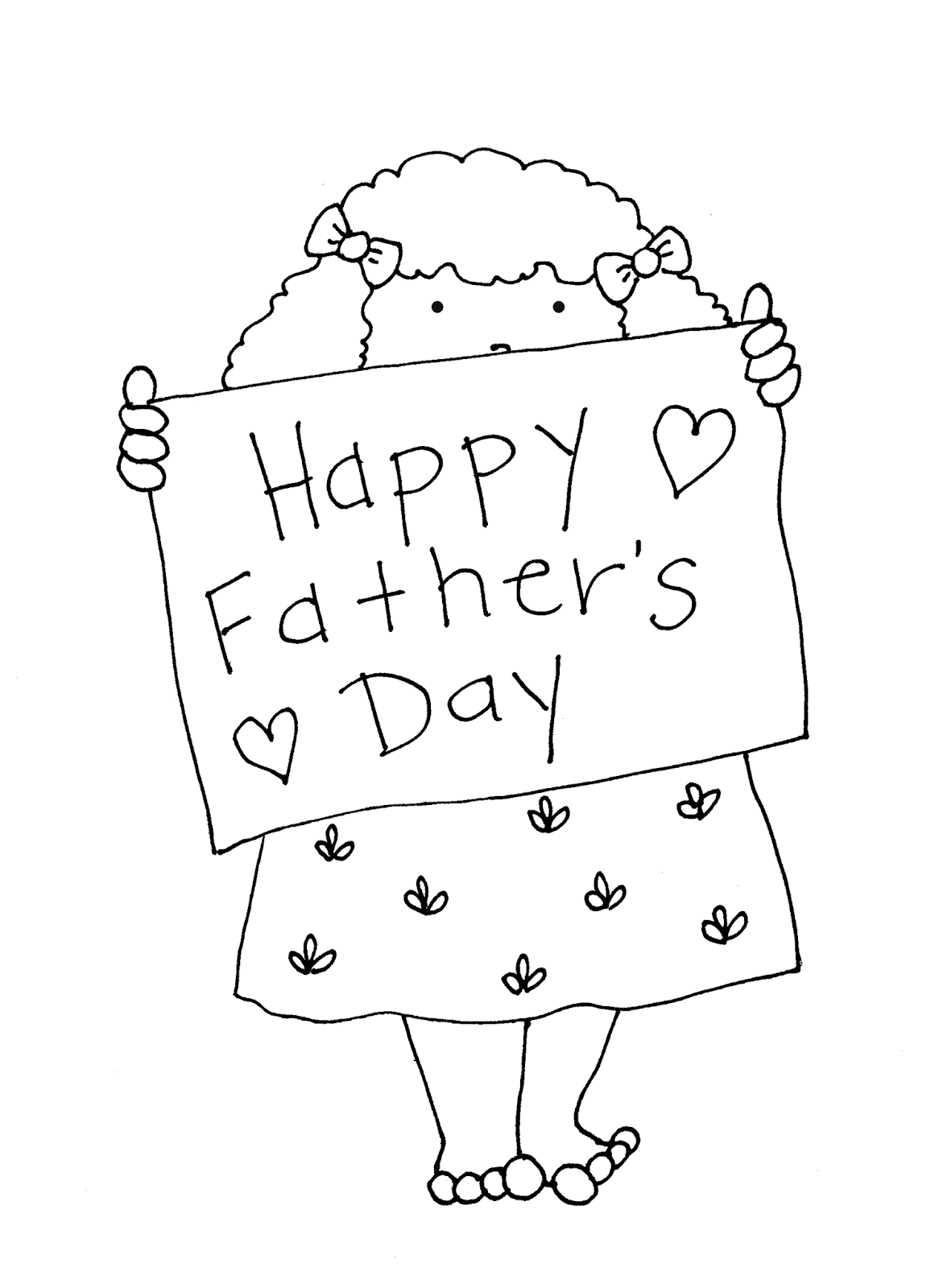 Happy fathers day drawing Pic