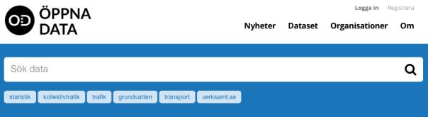 Screenshot från öppnadata.se