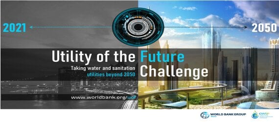 Défi du futur de la Banque mondiale: fournir des services d'eau et d'assainissement en 2050.