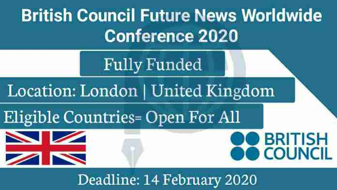 Future News Worldwide 2020 Conference in London