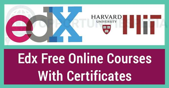 2500+ Free Online Courses - Apply for Edx Courses with Certificates