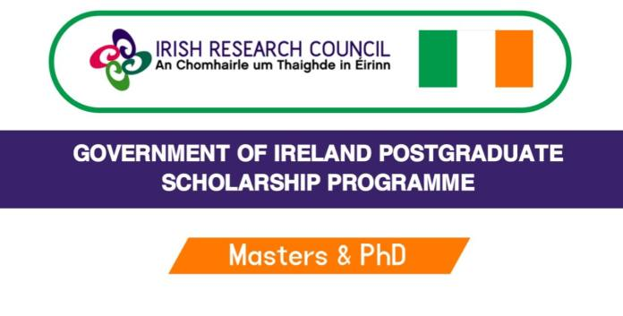 Ireland Government Scholarship 2022 For Masters & PhD Degree (Funded)