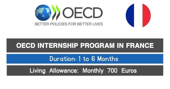 OECD Internship Program 2021 in France For International Students