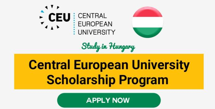 Central European University Scholarships 2022 in Hungary (Fully Funded)