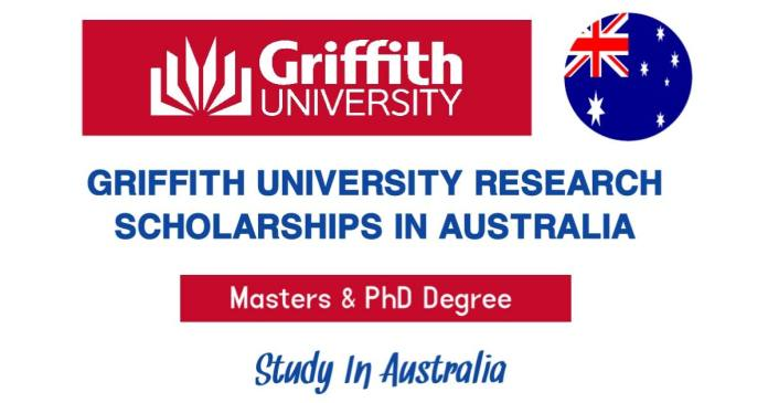 Griffith University International Research Scholarships 2021-22 in Australia