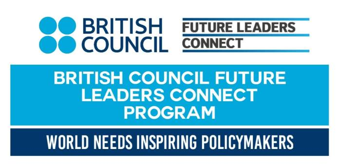 British Council Future Leaders Connect 2021 - Fully Funded in UK