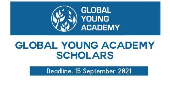 Global Young Academy Scholars 2022 (Call for New Members)